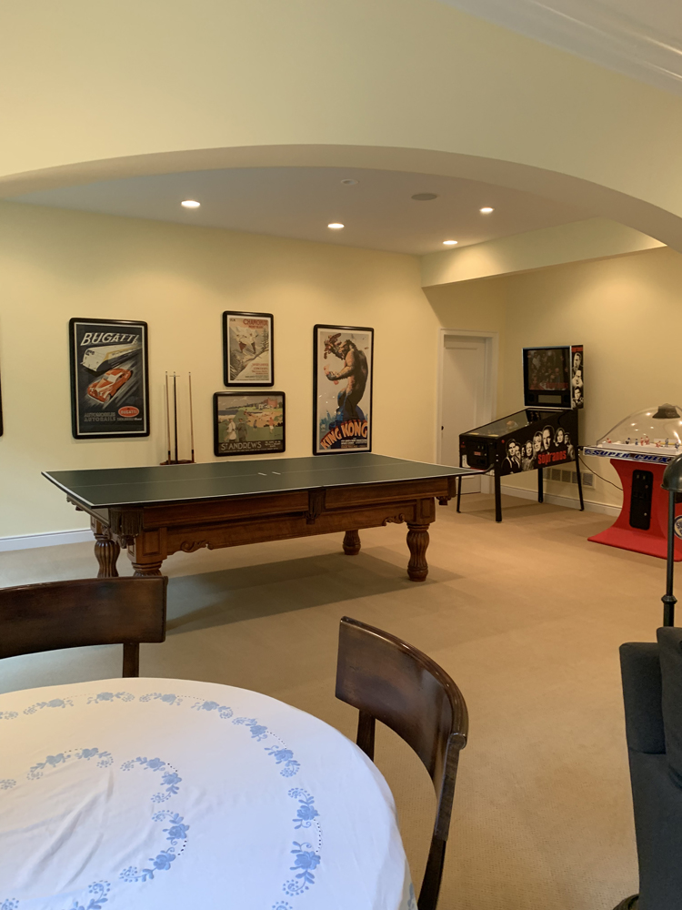 game room before